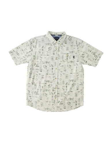 Jack O'Neill Old Harbour Regular-Fit Printed Shirt-WHITE-Small