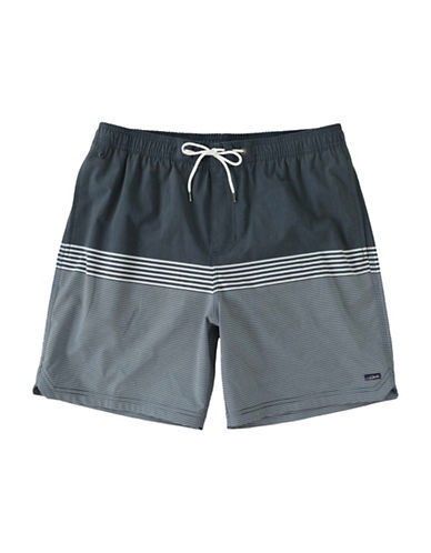 Jack ONeill Beach House Colourblock Shorts-BLUE-Large