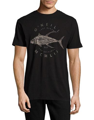 ONeill Finna Graphic T-Shirt-BLACK-Small