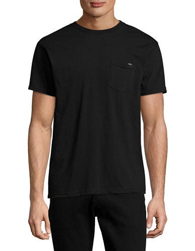 ONeill Kidman Crew Neck T-Shirt-BLACK-Large