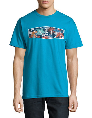 ONeill Power T-Shirt-TURQUOISE-Large
