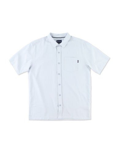 Jack ONeill Woven Button-Down Shirt-SKY BLUE-Small
