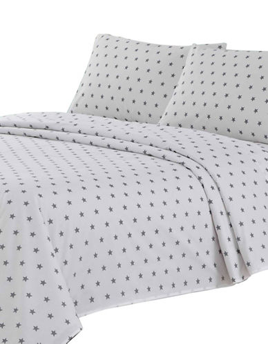 Johnson Home Kids Collection Three-Piece Stars Bedding Set-GREY-Twin
