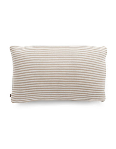 Marc O Polo Striped Lumbar Cushion-SAND-12x20