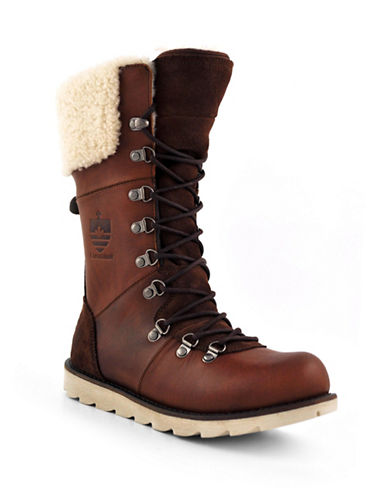 Royal Canadian Louise Boots-BROWN-6