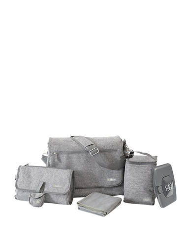 Bbluv Ultra Complete Multifunction Diaper Bag-GREY-One Size
