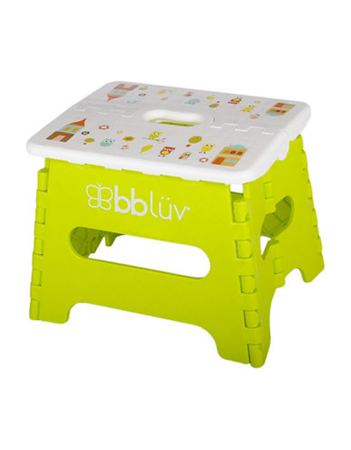 Bbluv Step Folding Step Stool-LIME-One Size