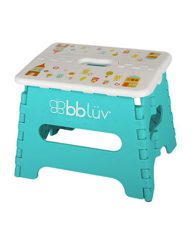 Bbluv Step Folding Step Stool-BLUE-One Size