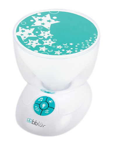 Bbluv Cielo Musical Nightlight-WHITE-One Size