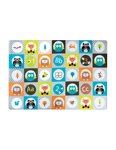 Bbluv Multi Reversible Playmat-WHITE-One Size