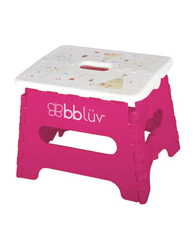 Bbluv Step Folding Step Stool-PINK-One Size