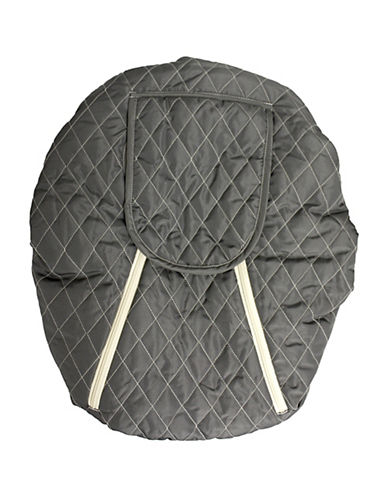 Mint Marshmallows Backless Car Seat Cover-GREY-One Size