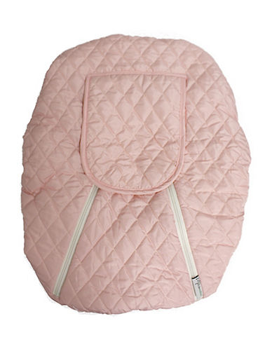 Mint Marshmallows Backless Car Seat Cover-PINK-One Size