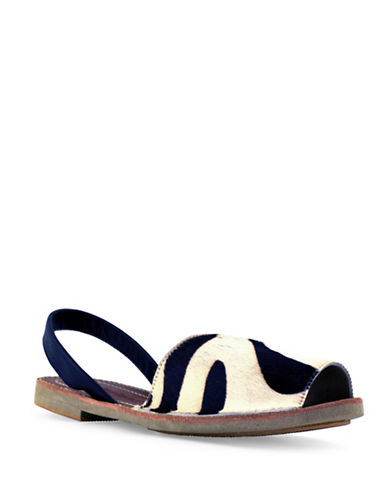 Royal Canadian Balliol Zebra Sandals-ZEBRA-6.5