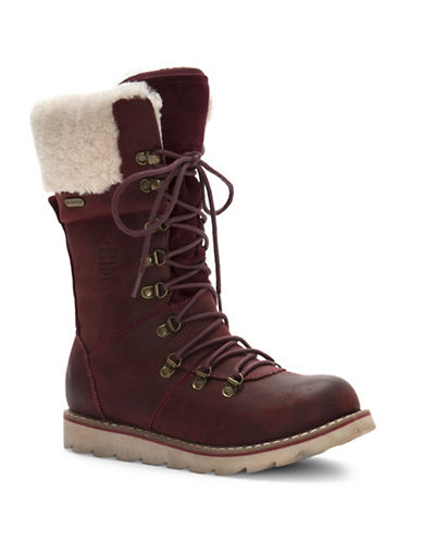 Royal Canadian Louise Boots-BURGUNDY-6