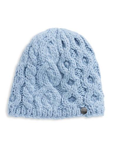 Rella Wool Knit Hi Rise Beanie-BLUE-One Size