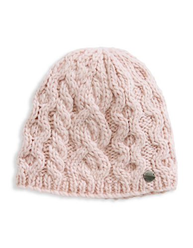 Rella Wool Knit Hi Rise Beanie-PINK-One Size