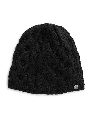 Rella Wool Knit Hi Rise Beanie-BLACK-One Size