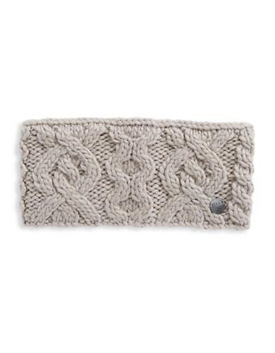 Rella Wool Knit Headband-GREY-One Size
