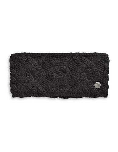 Rella Hi-Rise Wool-Blend Headband-BLACK-One Size