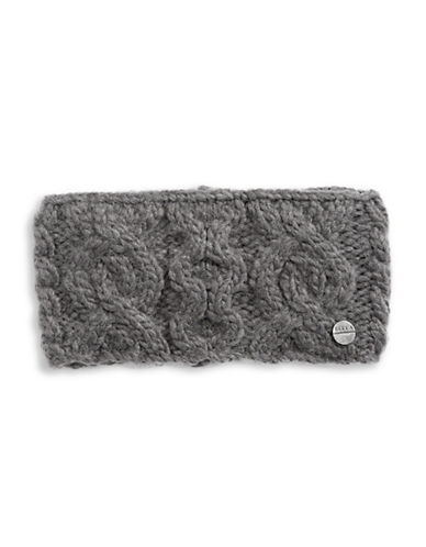 Rella Wool Knit Headband-CHARCOAL-One Size