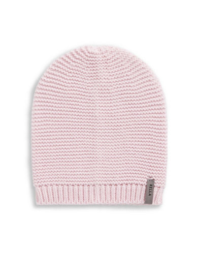 Rella Slouch Knit Beanie-PINK-One Size