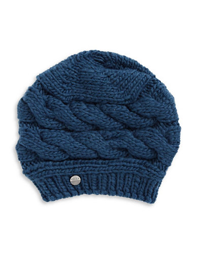 Rella Louie Wool-Blend Beret-BLUE-One Size