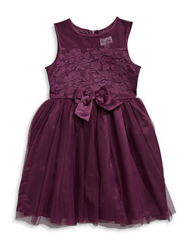 4ever Free Mesh Sleeveless Dress-PURPLE-12