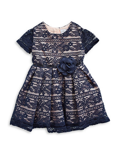 4ever Free Corded Lace Dress-NAVY-3