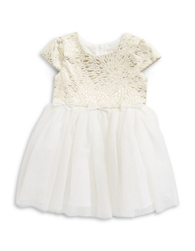 4ever Free Brocade Dress-WHITE-5