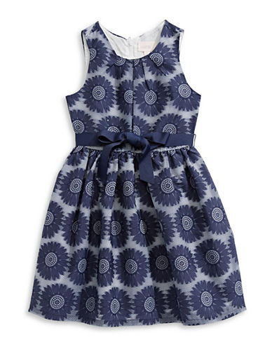 4ever Free Floral Sleeveless Dress-BLUE-7