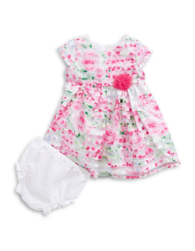 4ever Free Floral Burnout Dress-MULTI FLORAL-18 Months