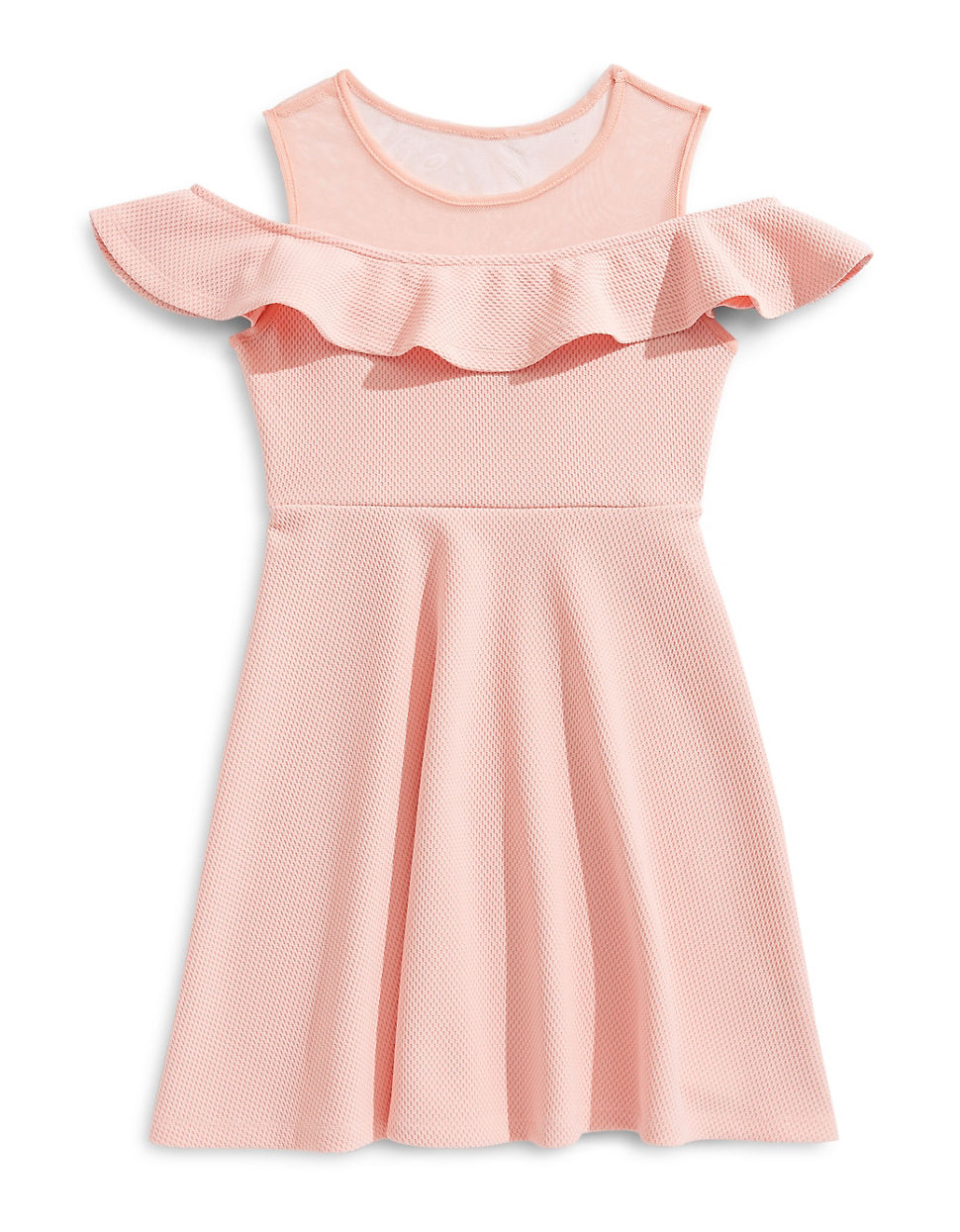 Girl\'s Cold-Shoulder Ruffle Dress | Hudson\'s Bay