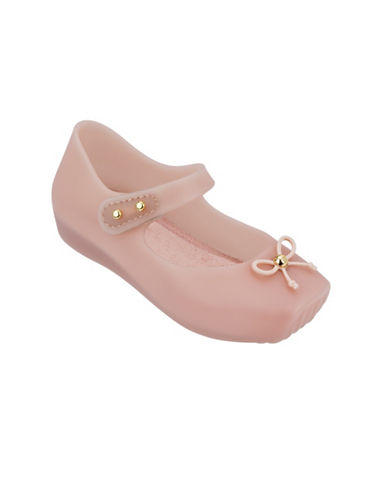 Melissa Shoes Pearl Ballet Flats-LIGHT PINK-7