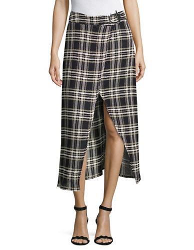 Beaufille Plaid Pencil Skirt-MULTI-8