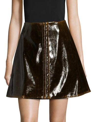 Beaufille Demeter Mini Skirt-BROWN-4