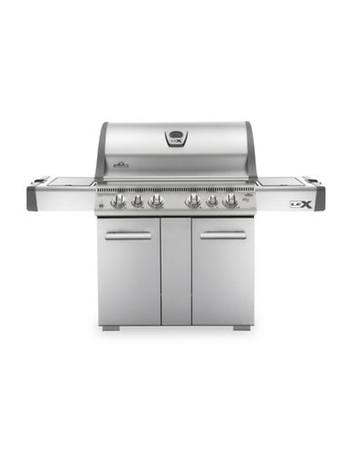 Napoleon Lex 605 Stainless Steel Natural Gas Grill-STAINLESS STEEL-One Size