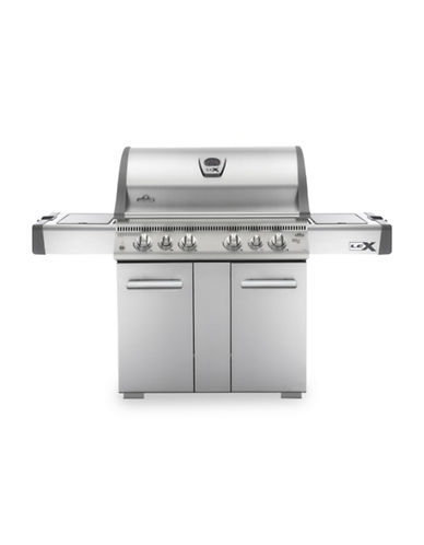 Napoleon Lex 605 Stainless Steel Propane Gas Grill-STAINLESS STEEL-One Size