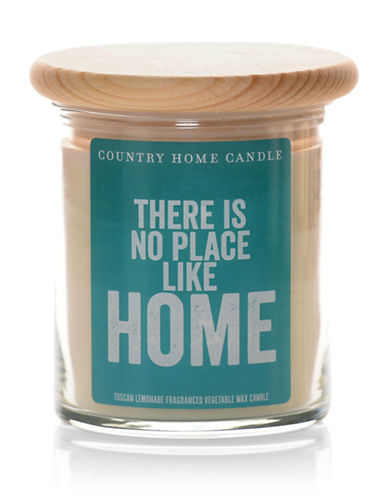 Country Home Candle There is No Place Like Home Candle 8oz-CREAM-One Size