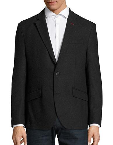 Horst Specked Wool-Blend Jacket-BLACK-54