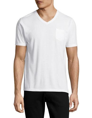 Horst V-Neck Pocket T-Shirt-WHITE-Small 88997405_WHITE_Small