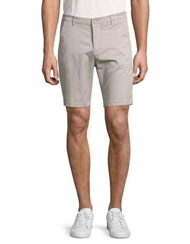Horst Bermuda Shorts-SILVER-34