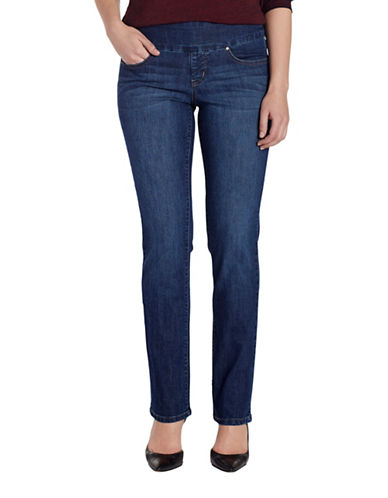 Jag Jeans Peri Straight Jeans-BLUE-10