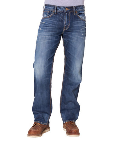 Silver Jeans Gordie Loose-Fit Jeans-BLUE-40X32