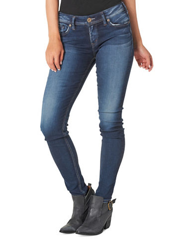 Silver Jeans Suki Super Skinny Jeans-INDIGO-27X31