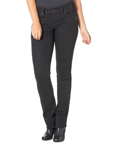 Silver Jeans Suki Slim Bootcut Jeans-BLACK-32X33