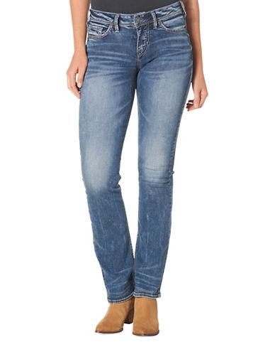Silver Jeans Suki High Slim Bootcut 31-Inch Leg Jeans-BLUE-27