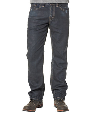 Silver Jeans Grayson Straight-leg Jeans-BLUE-36X32