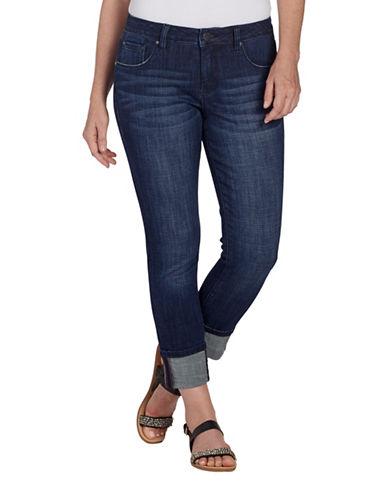 Jag Jeans Maddie Skinny Cuff Jeans-DARK INDIGO-10