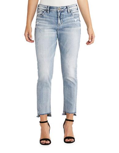 Silver Jeans Loose Boyfriend Jeans-INDIGO-31X26